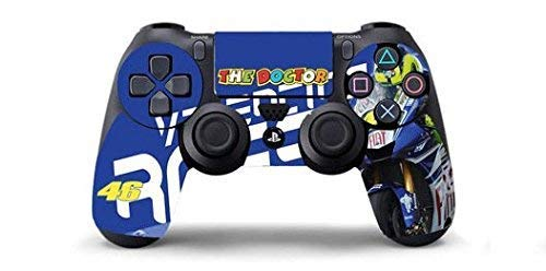 VALENTINO ROSSI THE DOCTOR 46 Skin Cover Joystik PS4 HD CONTROLLER WIRELESS DUALSHOCK 4 PLAYSTATION 4 limited edition DECAL ADESIVA