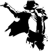 Global Graffix Michael Jackson with Hat Wall Decal Sticker for Home Decor 21