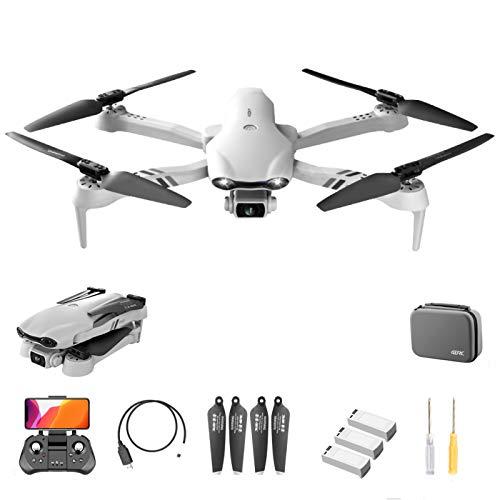 F10 GPS-Drohne mit 6K HD-Kamera für Erwachsene, faltbare 5G WiFi FPV Live Video-Drohne mit Doppelkamera, professionelle RC Quadcopter-Drohne mit 20 Minuten Flugzeit, automatische Rückkehr, Follow Me