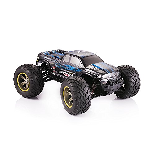 GPTOYS S911 2.4G 4CH RC Truck Car Toy Remote Control Off Road Racer Supersonic Explorer Monster High Speed Montain Truck with 2 Wheels Driven Electric Racing Truggy