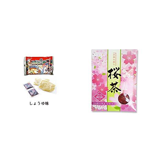 [2点セット] 飛騨高山ラーメン[生麺・スープ付 (しょうゆ味)]・桜茶(40g)