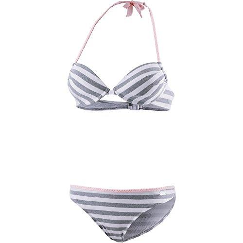 VENICE BEACH Damen Bikini Set grau 34 / B