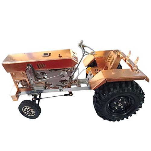 CT-Tribe Motor Stirling, Forma de Tractor Modelo de Motor Stirling Refrigerado por Aire, Kit de Ciencia y Juguetes Educativos - Dorado