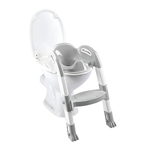 Thermobaby 2172587ALL Kiddyloo Toilette Blanc/gris