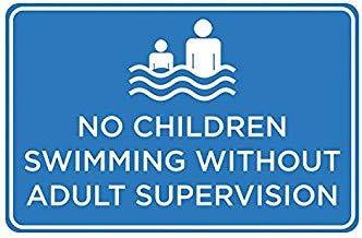 Aufsicht Children Swimming