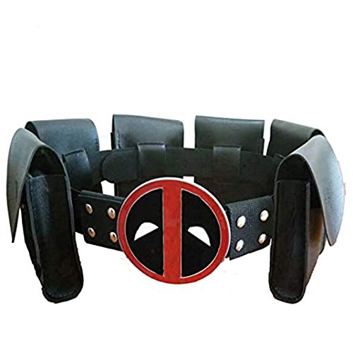 Deadpool Cosplay Costume Belt Fitting Cos Makeup Party Costume Props
