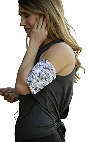 """MÜV365 Running Cell Phone Holder Armband for iPhone 11, X/10, 8, 7, 6, 6S, Plus Sizes Samsung Galaxy S10, S9, S8, S7, S6, A8, Note 10/9 and All Phones with Case Up to 7"""" for Women and Men"""
