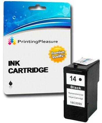 2 Cartucce d'inchiostro compatibili per Lexmark 14 & 15
