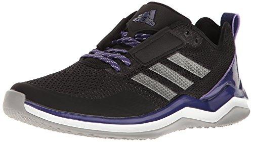 adidas Performance Men's Speed Trainer 3.0, Black/Iron/Collegiate Purple, 13.5 Medium US