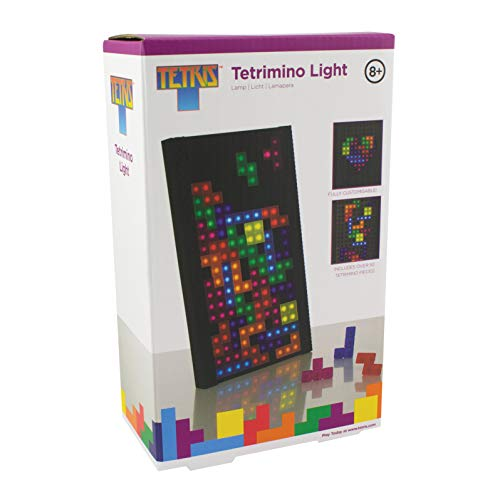 Paladone Tetris Light - Interactive Lamp with Tetromino Pieces