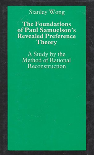 Foundations of Paul Samuelson's Revealed Preference Theory