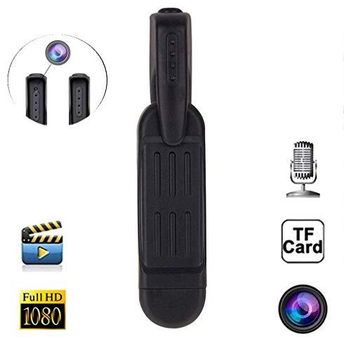Mini cámara Oculta para cámara espía, videocámara con grabadora de Video Digital, cámara Full HD 1080P DVR, detección de Movimiento (A)