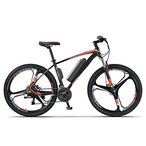 Bicicleta Eléctrica 27 Velocidades Bicicleta De Montaña Para Viajeros Adultos Rueda Integrada Todo Terreno 26 '250W 36V Bicicleta Eléctrica Para Ciclismo Al Aire Libre ,A,Electric Durability 65KM