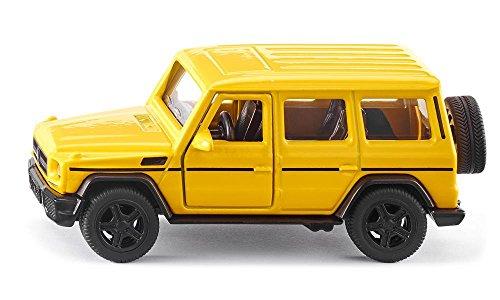 SIKU 2350, Mercedes-AMG G65, 1:50, Metall/Kunststoff, Gelb, Auswechselbare Reifen