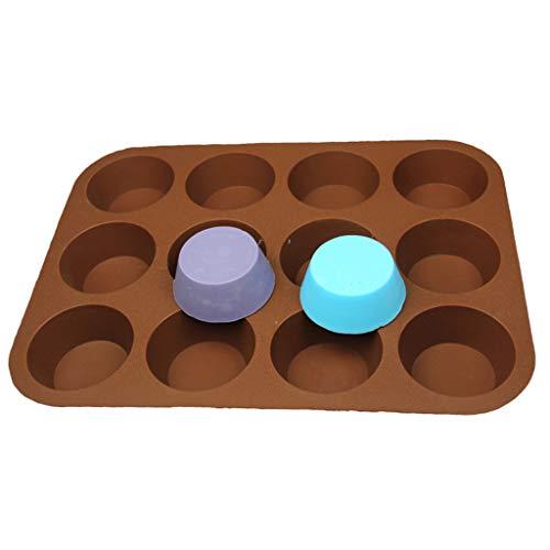 Marginf - Moldes de silicona para hacer chocolate, caramelo, jabón, magdalenas