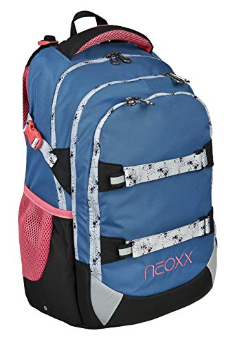 neoxx Active Schulrucksack Splash I Schulranzen für die weiterführende Schule I Rucksack I Tornister für Mädchen und Jungen