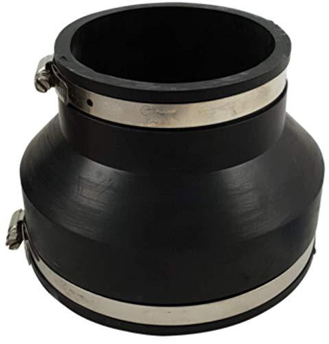 Sibo/ Aquaforte Raccord Flexible pour tuyaux en PVC - 110 x 75 mm