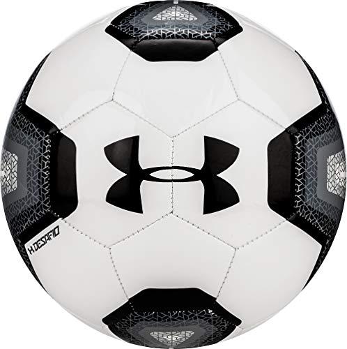 Under Armour DESAFIO 395 Soccer Ball, Size 4, White/Black
