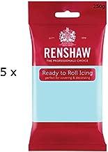 1.25 Kg Renshaw Ready Roll Icing Fondant Cake Regalice Sugarpaste DUCK EGG BLUE