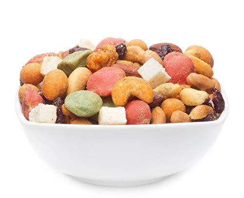 2 x 600g Nussmischung fruchtig scharf gesalzen mit Erdnuss Mandel Cashew Macadamia Kokos Cranberry...