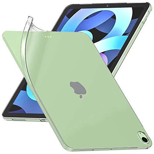 ebestStar - Funda Compatible con iPad Air (2020) 10.9, iPad Air 4 Carcasa Silicona, Protección Crystal Clear TPU Gel, Ultra Slim Case, Transparente [iPad: 247.6 x 178.5 x 6.1 mm, 10.9'']