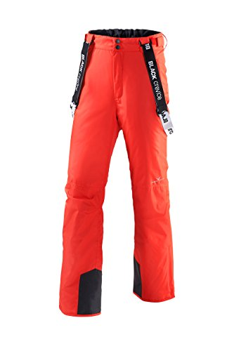 Black Crevice heren skibroek, rood, 58
