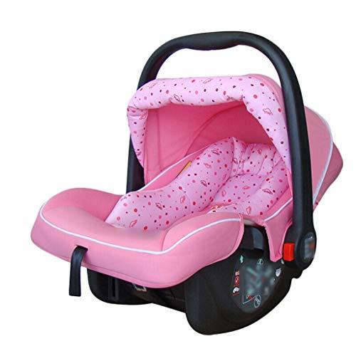 Xiao Jian- Chaise berçante pour bébé, Berceau électrique Smart Shaker, Chaise de Confort pour bébé, Panier de Couchage, Panier de Couchage Chaise berçante bébé (Couleur : Pink)