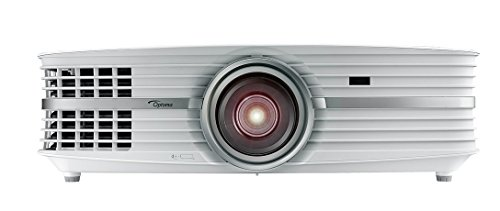 Optoma UHD60 True 4K UHD Projector, Bright 3000 Lumens, Entertainment and Movies, Rec.2020 with DCI-P3 for Wide Color Gamut, HDMI 2.0 and HDR10, WHITE