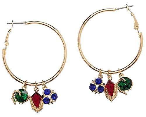 Legend of Zelda Earrings Stone Hoop Legend of Zelda Jewelry - Legend of Zelda Gift