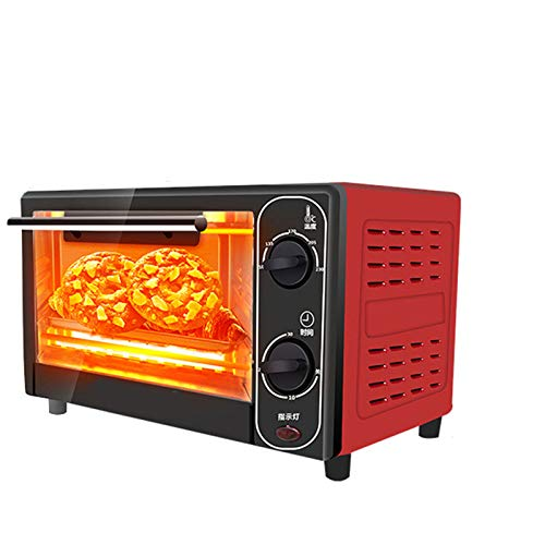 Oven Enamel Interior Built-in Electric Double Oven & timer 1500 W Mini Oven with Adjustable Temperature Control