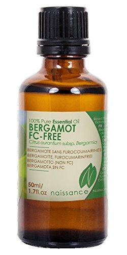 Naissance Bergamota Sin Furanocumarinas - Aceite Esencial 100% Puro - 50ml