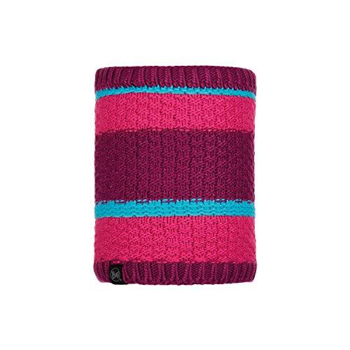 Buff Knitted und Polar Fizz Neckwarmer, Pink Honeysuckle, One Size