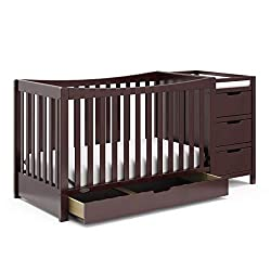 Best baby crib for short moms with drawers & extra storage.
