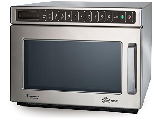 1800w Commercial S/s Microwave Oven 0.6 Cu.ft High Volume