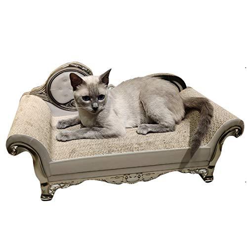 Sofá con Garra De Molienda De Gato De Estilo Europeo, Suministros para Gatos Corrugados, Juguetes para Gatos, Dos Estilos, Se Puede Rascar, Dormir Y Trepar,Noble Couch