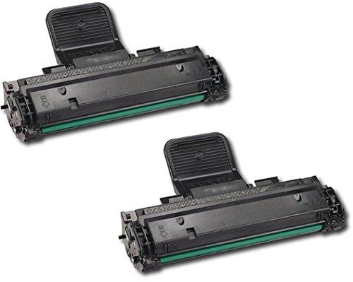 2er Set SCX-4725A SCX-D4725A Premium Toner Schwarz kompatibel für Samsung SCX-4725F, SCX-4725FN