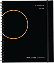 AT-A-GLANCE 2018-2019 Academic Year Weekly & Monthly Planner / Appointment Book, Large, 8-3/4 x 11, Plan.Write.Remember, Color Will Vary (70595700)
