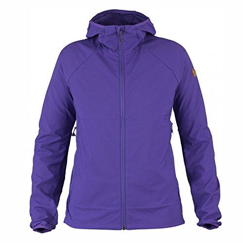 FJÄLLRÄVEN Damen Abisko Hybrid Windbreaker W Softshelljacke, Purple, XS