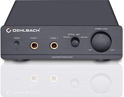 Oehlbach XXL DAC Ultra - Amplificador...