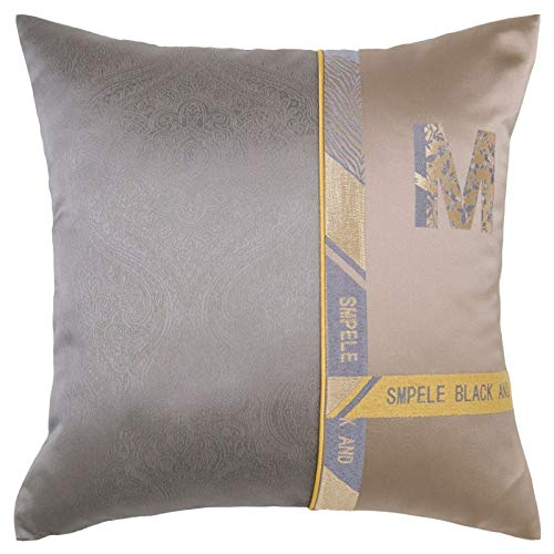 QXbecky High-Precision Double-Sided Pillowcase with Imitation Chenille Nordic Cushion Cover Fashion Home Sofa Waist Pillow Pillowcase