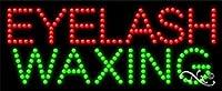 11x 27x 1インチEyelash Waxingアニメーション点滅LEDウィンドウサイン