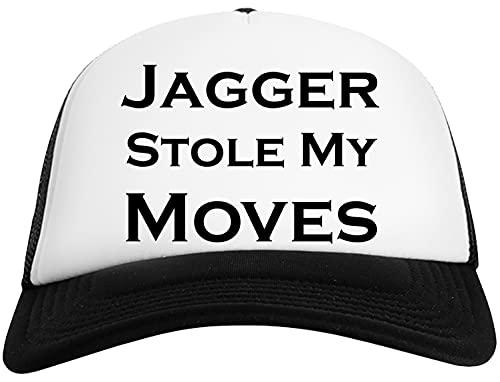 Jagger Stole My Moves Herr Kvinnors Baseboll Keps Mesh Tillbaka Mens Womens Baseball Cap Mesh Back