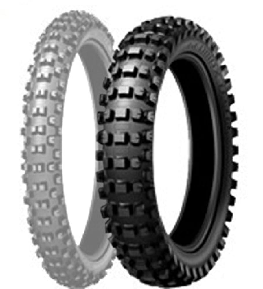 拮抗する証明する厚くするDUNLOP(ダンロップ)バイクタイヤ GEOMAX AT81 リア 110/90-18 61M チューブタイプ(WT) [公道走行不可] 303311 二輪 オートバイ用