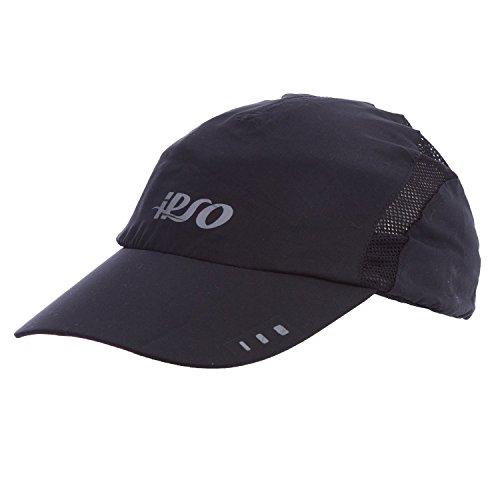 IPSO Gorra Running Negro (Talla: T.U.)