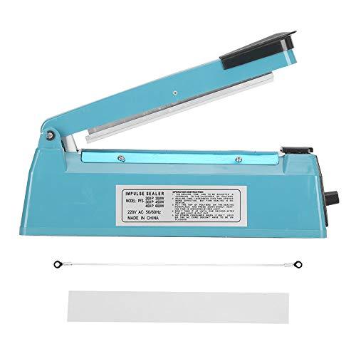 Oumefar Máquina de Sellado de plástico Máquina de Sellado pequeña Manual Mini máquina de Sellado de plástico Bolsa de plástico Bolsa de Papel de Aluminio Bolsa de Papel Kraft