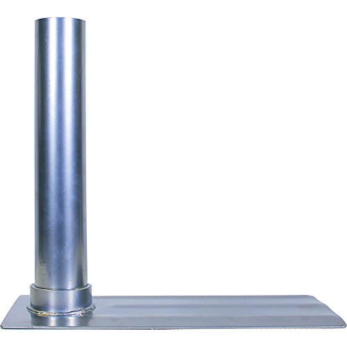 Tire Mount for Large Diameter Portable Flagpole