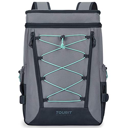 TOURIT Backpack Cooler Leakproof Insulated Cooler Backpack Large Capacity Lightweight Soft Cooler Bag for Men Women to Picnics, Camping, Hiking, Beach, Park or Day Trips