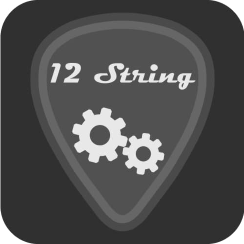 Kit de ferramentas para música violão de 12 cordas