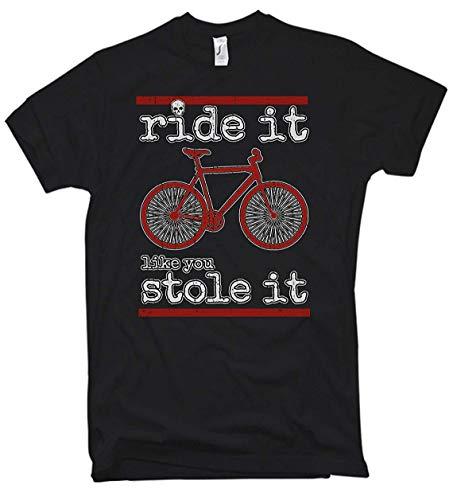 Camiseta Ride It Like You Stole It Bicicleta Montaña Downhi