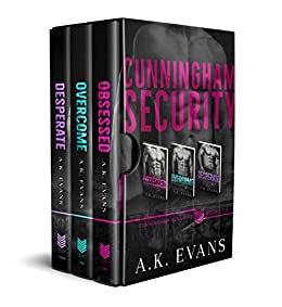 Cunningham Security Box Set 1 by [A.K. Evans]